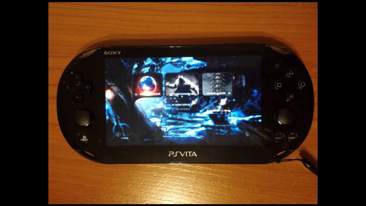 Mortal Kombat X на PS Vita (Remote Play)