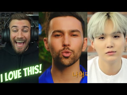 MAX feat. SUGA of BTS - Blueberry Eyes  [Official Music Video] - REACTION