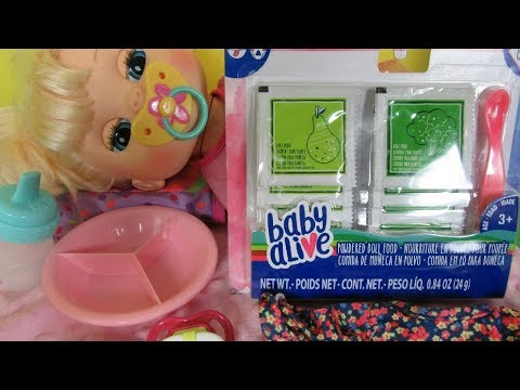 BABY ALIVE REAL SURPRISES Doll Feeding And Changing Video!