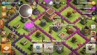 Clash of Clans Best attack and STRATEGI MALING 2