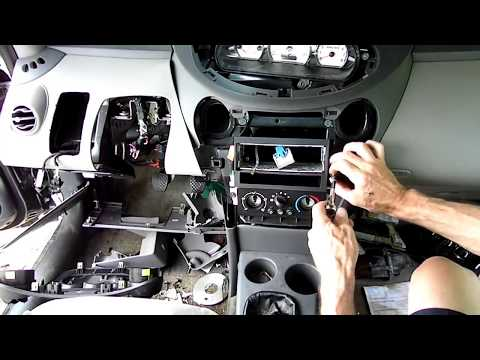Saturn ION Heater Air Conditioning Control Removal