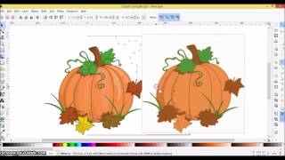 Cricut Explore Step-by-Step STEP 7: Creating a Layered SVG in Inkscape using a Color Image Thumbnail