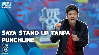Stand Up Comedy Nopek Novian: Saya Stand Up tanpa Punchline - ULTIMATE SHOW 6 | SUCI IX