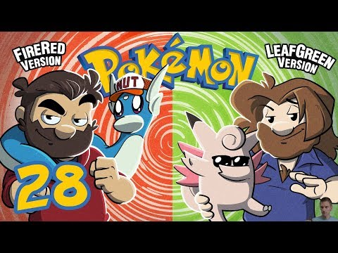 Pokemon Fire Red and Leaf Green   Let's Play Ep. 28   Super Beard Bros.