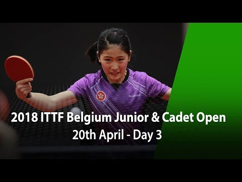 2018 Belgium Junior & Cadet Open - Day 3