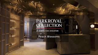 PARKROYAL COLLECTION Marina Bay, Singapore – Peach Blossoms