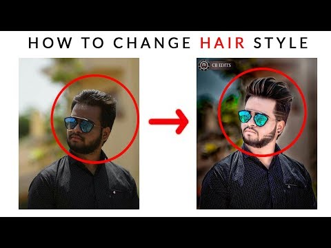How to change hairstyle in photoshop cs6