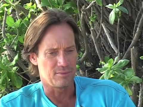 CHATTY KATHY & KEVIN SORBO: on the set of SOUL SURFER