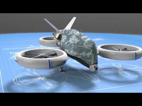 Thales - Singapore Next Generation Unmanned Autonomous ISR/Strike Tricopter Unveiled [720p]