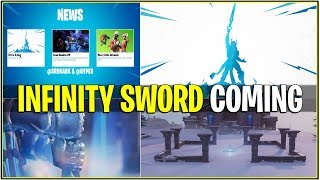 *NEW* TIER 100 INFINITY SWORD COMING SOON..! *With Leaked Sound FX* (Fortnite)