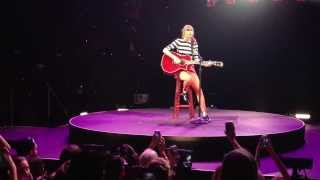 Taylor Swift- I Almost Do LIVE