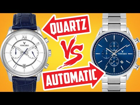Quartz Vs Automatic Watches! Which Watch Type To Buy? Mechanical Or Battery Powered