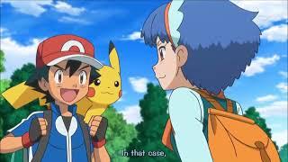 Pokemon XYZ Episode 19   Ash picks Serena over Miette English Subs HD