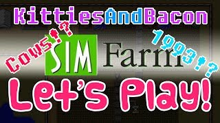 Lets Play Sim Farm 1993! Best farming simulator of 2013?! Gameplay Commentary Review