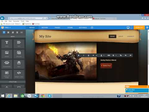 How To Make Website Using Weebly