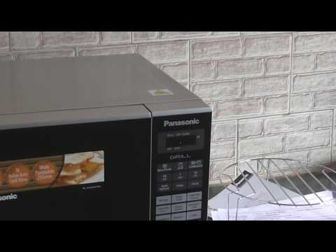Operating System of Panasonic Microwave Oven/Demo/Model NN-GT231M FDG