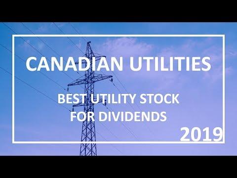 Canadian Utilities - Top Utilities Stock for Dividends 2019