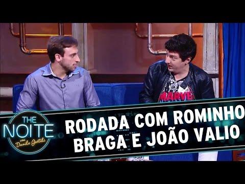 The Noite (02/06/16) Rodada da Noite - Rominho Braga e João Valio