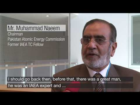 Fellow Mr Muhammad Naeem, Chairman of the Pakistan Atomic Energy Commission