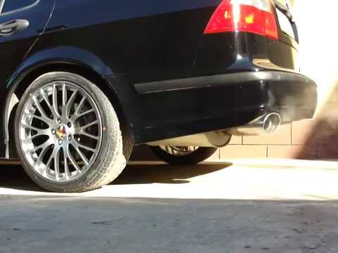 Saab 9 5 Abbott Racing Exhaust