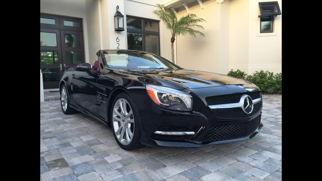 2013 mercedes benz sl550 roadster for sale by auto europa naples youtube. Black Bedroom Furniture Sets. Home Design Ideas