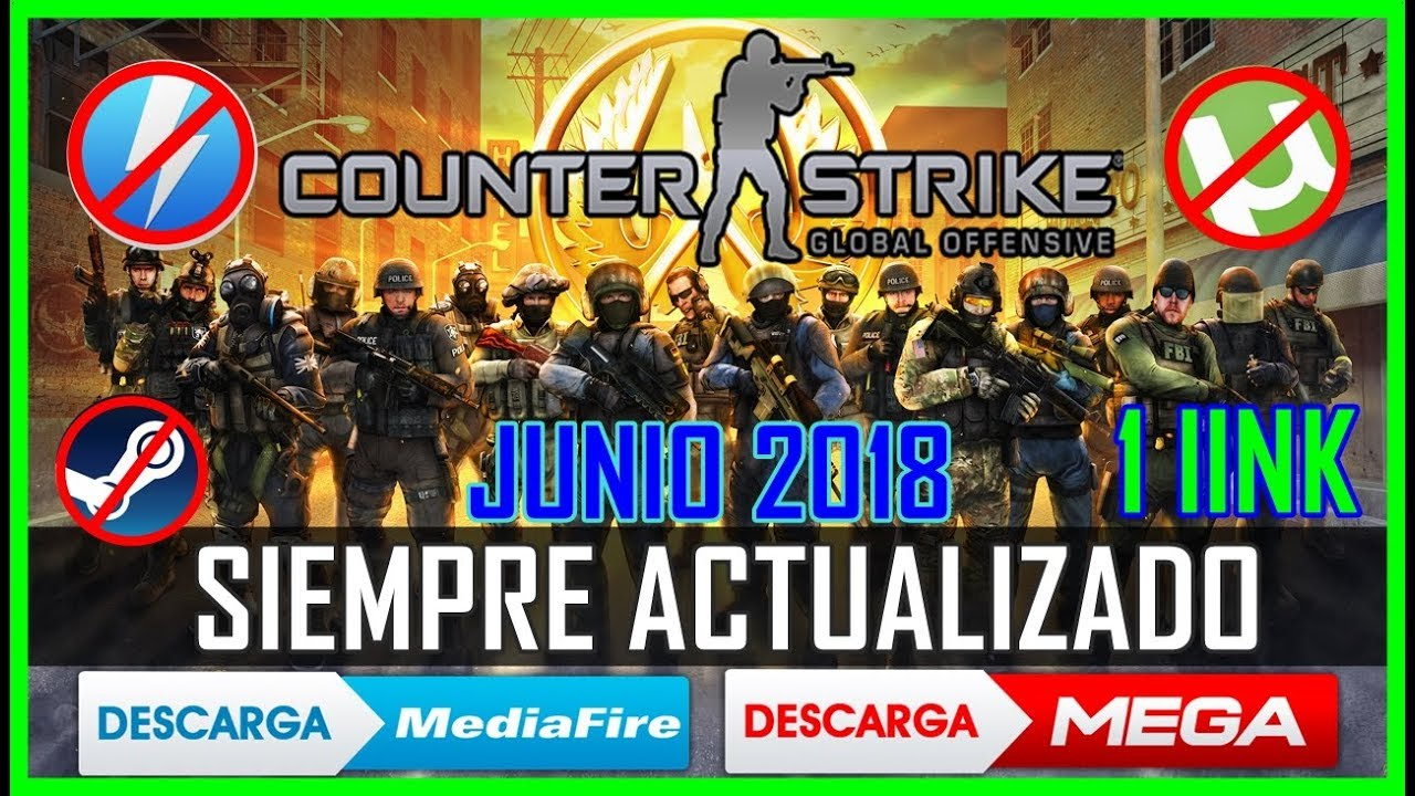 Descargar Counter Strike:Global Offensive ONLINE ACTUALIZABLE ultima Versión[MEDIAFIRE] NOV 2018