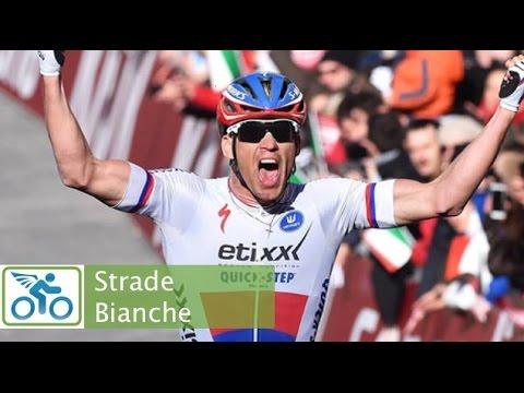 2015 Strade Bianche Last 20K Awesome Finish!