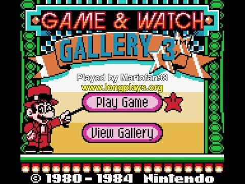 Game & Watch Gallery 3 (GBC) - 50 Stars Longplay