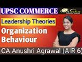 LEADERSHIP THEORIES ll Organizational Behaviour ll UPSC commerce ll Paper 2