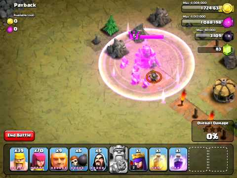 Clash Of Clans Barbarian King Ability Level 5 Iron Fist