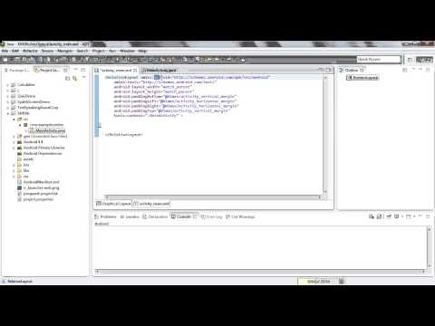 Android 4.4 Tutorials 1 Secret Of XML NameSpace By Anant Shah 387001
