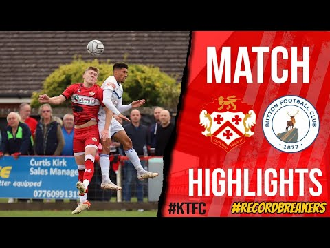 Kettering Buxton Goals And Highlights