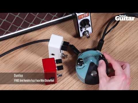 Mini Effects Pedal Shootout Demo: Fuzz (Rainger FX, Dunlop, Z.Vex, Lovepedal)
