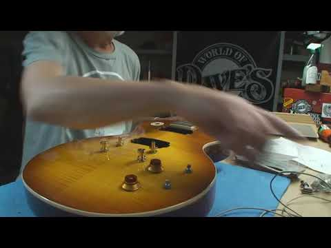 Epiphone Les Paul Gets Many New Parts..but why?