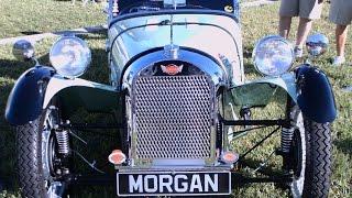 1947 Morgan  F Super Three Wheeler Wht LakeMirror101814