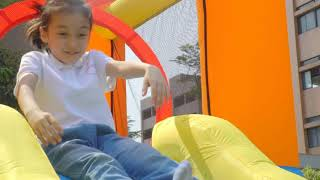 Happy Hop Inflatable Jumping Bouncer