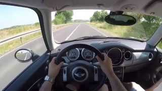 Mini Cooper S 1.6 (2006) on German Country Roads - POV Test Drive