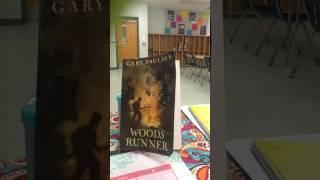 woods runner by gary paulsen audiobook ch 5 pg 34