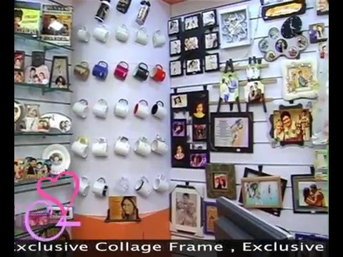Our Sublimation Gift Items & Frames Showroom