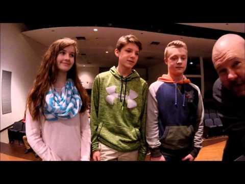 Emily Luke Devin 8th Graders at Mona Shores Middle School