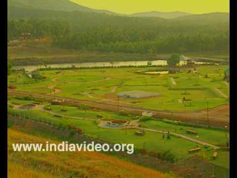 The Kanjirappuzha dam - an attractive picnic spot