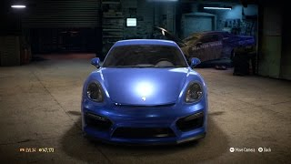 Need For Speed 2015 - Porsche Cayman GT4 2015 - Test Drive Gameplay (XboxONE HD) [1080p60FPS]