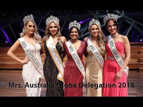 MRS AUSTRALIA GLOBE DELEGATION 2018