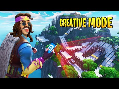 The NEW Fortnite Creative Mode GAMEPLAY!