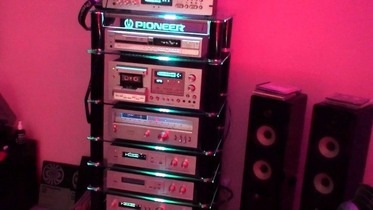 pioneer vintage blue line best stereo demonstration youtube. Black Bedroom Furniture Sets. Home Design Ideas
