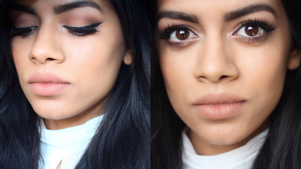 Winter Glam Makeup Tutorial Lana Del Rey Inspired Youtube