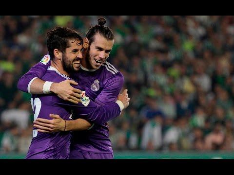 Betis 1-6 Real Madrid | GOLES: Varane, Benzema, Marcelo, Isco (2), Cristiano | REACCIÓN EN DIRECTO