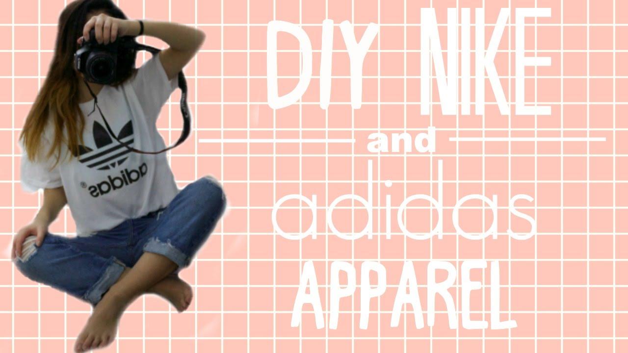 Adidas shirt design your own - Diy Nike And Adidas Apparel Melanie Locke