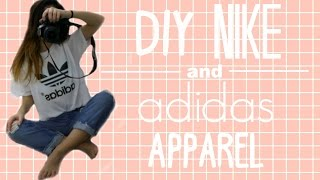 DIY NIKE AND ADIDAS APPAREL // Melanie Locke thumbnail