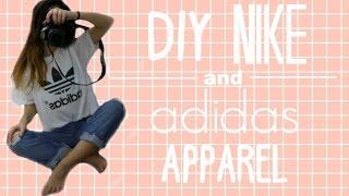 DIY NIKE AND ADIDAS APPAREL // Melanie Locke